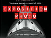 Expo du Photo Club 8 au 10 novembre